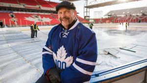 Wendel Clark, former Captain of the Maple Leafs